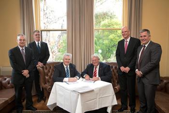 CEBRA agreement signing
